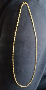 18k Gold Plated Necklace/Chain