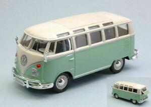 Volkswagen Van T1 Samba 1/25 Modellino Auto Maisto 1962 Modello Furgone Vw