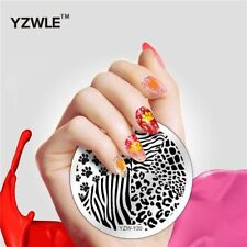 Nail Art Stamping Plates Image Plate Decoration Cat Paws Animal Print (YZW-Y20)