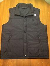 The North Face Black Nylon Snap Vest Men's Size S Small