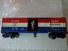 "LIONEL ""O"" AND ""027""ANIMATED MAIL CAR U.S.MAIL RAILWAY POST OFFICE"