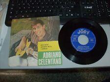 """ADRIANO CELENTANO """"""""ROCK MATTO/IMPAZZIVO PER TE """" 1960 JOLLY RECORD J20080"""