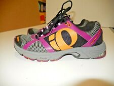 Pearl Izumi Running Shoes Women 8 Run Like An Animal Sneaker Trail USE 1 TIME C