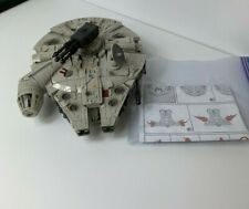 Star Wars Powered by Transformers Han Solo & Chewy Millennium Falcon Loose