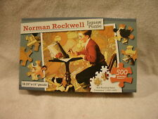 "Norman Rockwell ""Boy Reading Sears Catalog (1920-1930) 500 Piece Puzzle"