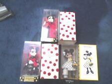 Lot of 3 Disney D23 Expo 2015 Minnie Mouse Designer LE400-Minnie Mouse Signature