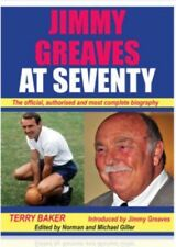 CELEBRATING JIMMY GREAVES WHEN HE WAS WELL. SIGNED JIMMY INSERT £15