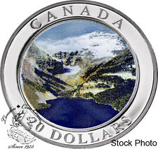 Canada 2003 $20 Natural Wonders - The Rockies Silver Coin