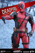 Ryan Reynold as DEADPOOL Marvel Movie 1:6 Hot Toys_MMS347_902628_SEALED SHIPPER