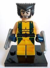 Wolverine Minifigure - new in bag - Lego compatible - figurine figure x-men