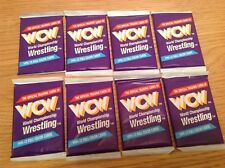 UNOPENED WCW IMPEL WRESTLING TRADING CARDS 1991 8 Packs