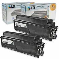 LD Compatible Toner Cartridge Replacement for Kyocera TK-362 (Black, 2-Pack)
