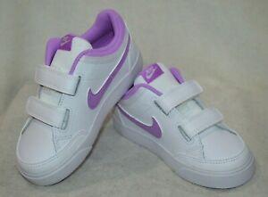 Nike Capri 3 LTR (TDV) White/Fuchsia Glow Toddler Girl's Sneakers-Asst Sizes NWB