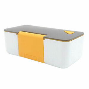 Portable Lunch Box Microwave Bento Box Food Storage Containers with Phone Stands