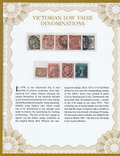 Qv - Low value denominations in Westminster Folder with Authenticity Certificate