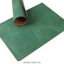 Cuir de buffle Vert Soft Pull-Up 2,5 mm d'épaisseur A3 Réel vachette LARP 77