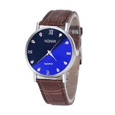 Genuine Leather Strap Analog Wristwatches