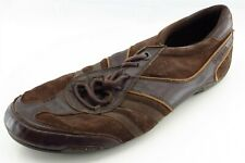 Diesel Shoes Size 11 M Brown Fashion Sneakers Leather Men