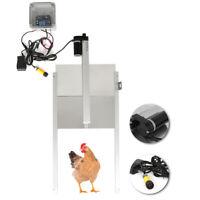Automatic Chicken Door POP Hole Opener House Hen Coop Poultry Ark Pullet Rails