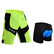 Mtb Bicycle Cycling 3D Padded Underwear with Shorts Pants Clothing for Men Women