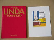 Philippe Bertrand: Linda liebt die Kunst* Luxusausgabe + exquisiter Grafik