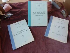 les forces navales francaises libres,3 volumes,rares,service historique,1966-67