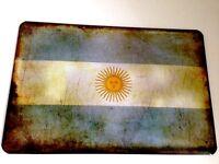 Argentinien Argentinia Fahne Flagge Flag Blechschild Schild Tin Sign 20 x 30 cm