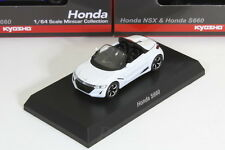 Kyosho 1/64 HONDA S660 White JW5  ACURA NSX&S660 Minicar Collection 2017