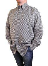 Versace V2 Mens Vtg 90s Collectors Tailored Classic Fashion Silk Shirt sz L AW96