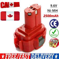 9.6V 2.5AH Ni-MH Battery for Makita PA09 9120 9100 9122 192595-8 192596-6 CA