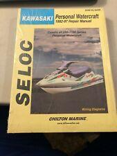 New! Seloc Kawasaki Personal Watercraft 1992-97 Repair Manual #9202