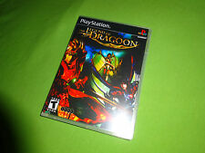 Empty Replacement 4-Disc Custom DVD Case  - The Legend of Dragoon PS1 PS2 PS3