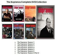SOPRANOS COMPLETE SERIES 1 2 3 4 5 6 + FINAL EPISODES DVD Set New Sealed 7 Boxes