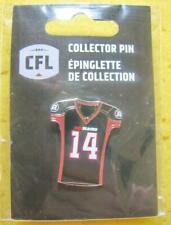 OTTAWA REDBLACKS CFL AMERICAN FOOTBALL CLUB JERSEY OFFICIAL PIN NEW 2019 SEALED