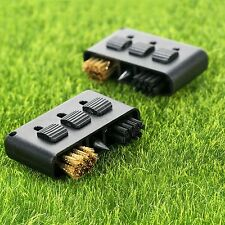 3 in 1 Golf Club Brush Groove Ball Cleaning Cleaner Tool Favor Gift 2pcs