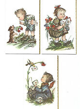 Set of TWELVE Reporoducta Note Cards & Envelopes ~ Look Like Hummel Characters
