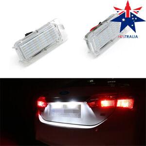 For Ford Focus 5D Fiesta Mondeo MK4 C-Max MK2 Kuga LED License Plate Lights Lamp