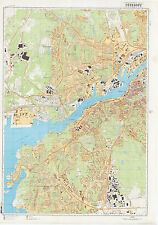 Russian Soviet Military Topographic Maps - GOTEBORG (Sweden), 1:10 000, REPRINT