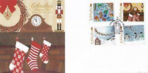 Gibraltar - 2010 - FDC - Christmas - Unaddressed...