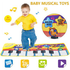 Boys Girls Kids Baby Musical Piano Play Mat Development Educational Soft Toys
