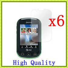 6 Pcs HD Clear LCD Screen Protector Guard Cover For Pantech AT&T Pursuit 2 P6010