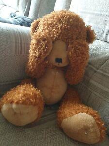 """Russ Little Lost Bear Soft Toy Teddy 19"""""""