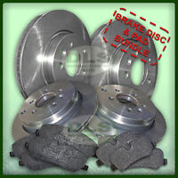 LAND ROVER DISCOVERY 3 2.7TdV6 - Brake Disc and Pad Set Front and Rear (DLS411)