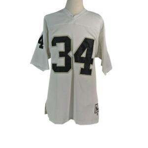 NFL Mitchell & Ness Jersey Los Angeles Raiders #34 Bo Jackson Throwback Size 52