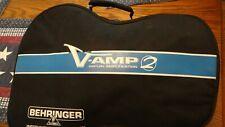 Behringer V- Amp 2 Virtual Amplification Unit In Case NO PEDAL