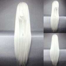 Weiße Perücken & Haarteile und klassischer Kappenkonstruktion Kunsthaar-Kunst