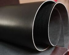 2-2.5mm Black Veg Tan Tooling Leather Large Pieces Craft Repair various sizes