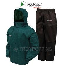 FROGG TOGGS RAIN GEAR-AS1310-109 MENS ALL SPORT GREEN/BLACK SUIT WALKING WEAR