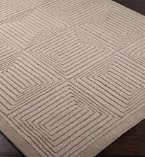 Surya Mystique Hand Loomed Wool Area Rug  8' x 11'    Beige / Taupe
