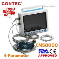 CE FDA CONTEC CMS8000 Segni vitali Monitor paziente ICU, Multiparametrico